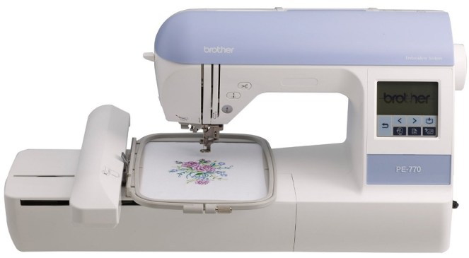 Review of Brother PE770 Embroidery Machine - Best Embroidery Machine