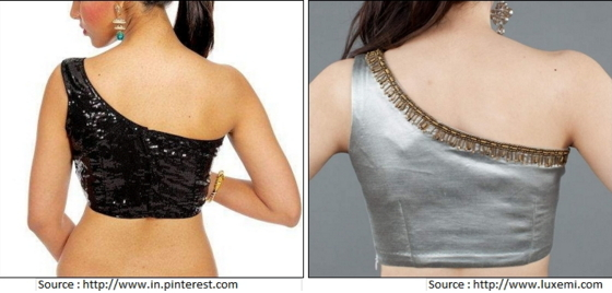 One shoulder back neck