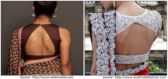 Triangle Back Neck Designs