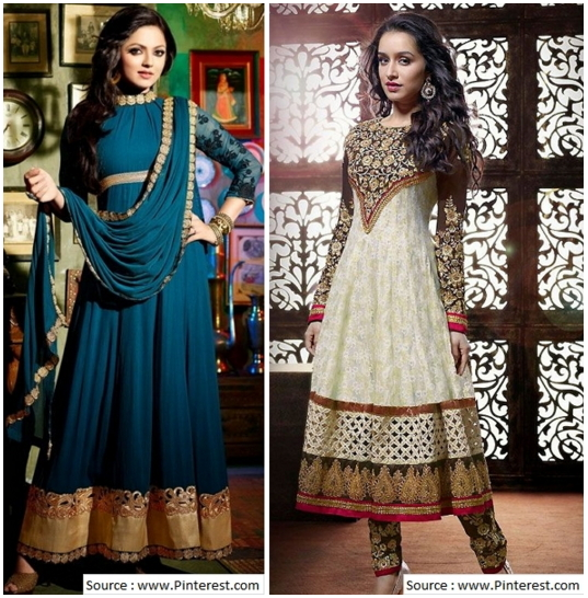 salwar suit for wedding - embroidery designs