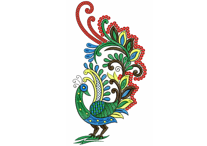 Peacock Embroidery Designs For Embroidery Machines March 2019