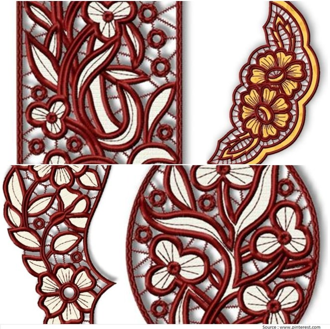 Cutwork Embroidery Designs