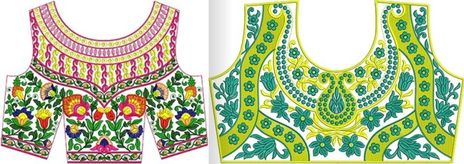 Best Embroidery Designs For Blouses