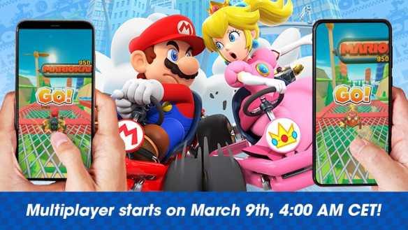Der Multiplayer von Mario Kart Tour ist ab sofort verfügbar.