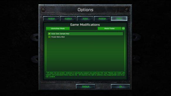 Auch bestehende Modding-Projekte funktionieren.