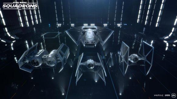Auch das Imperium hat ein großes Arsenal.
