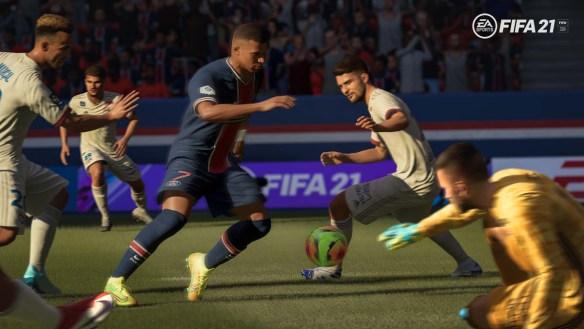 Kylian Mbappé ist auf dem Cover von FIFA 21.