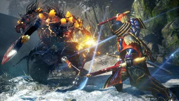 Die Kämpfe in Nioh 2 sind fordernd und schnell.