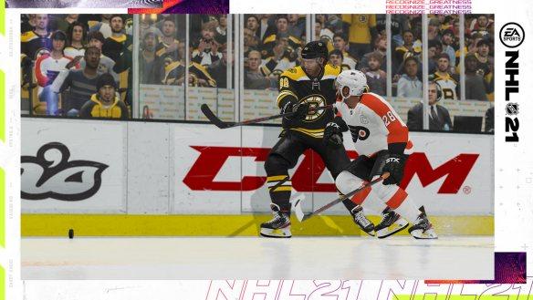 EA Sports NHL 21 erscheint am 16. Oktober 2020.