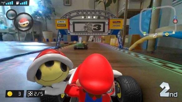 Mario Kart Live: Home Circuit ist ein echt witziges Spiel - wenn der Platz da ist.