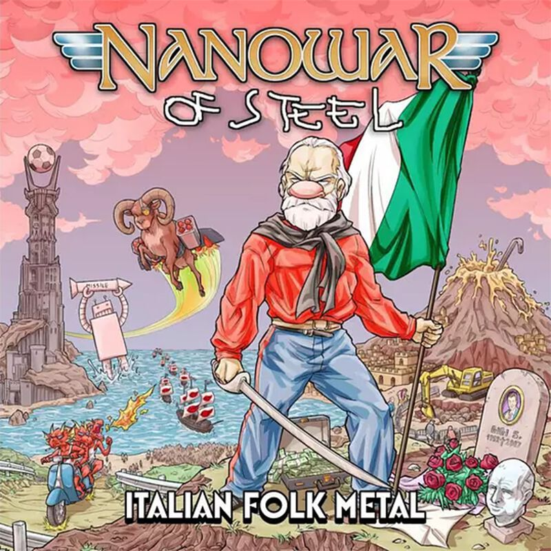 Nanowar Of Steel - Cover