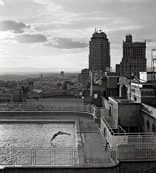 Imagen completa del Hotel Emperador en la exposición fotográfica de Gran Vía