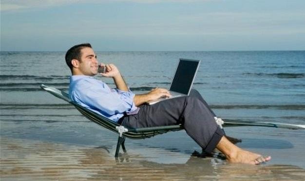 Trabajando en Vacaciones
