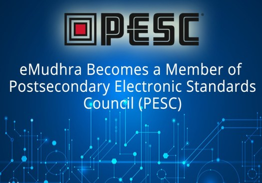 eMudhra Becomes a Member of Postsecondary Electronic Standards Council (PESC)