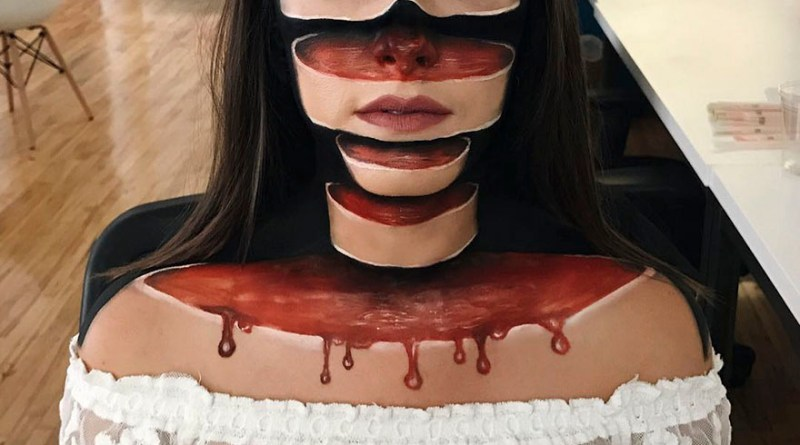 Les maquillages de cette artiste canadienne sont effrayants et fascinants à la fois