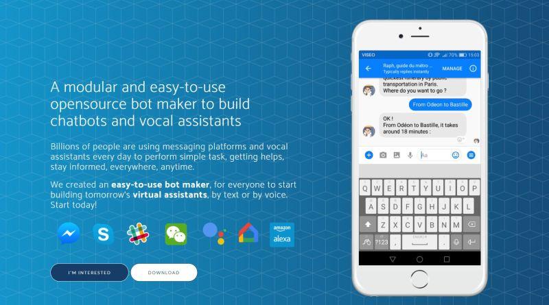 VISEO Bot Maker et SARAH v5