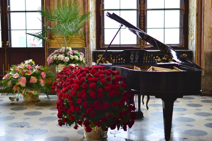 Grand Piano at event