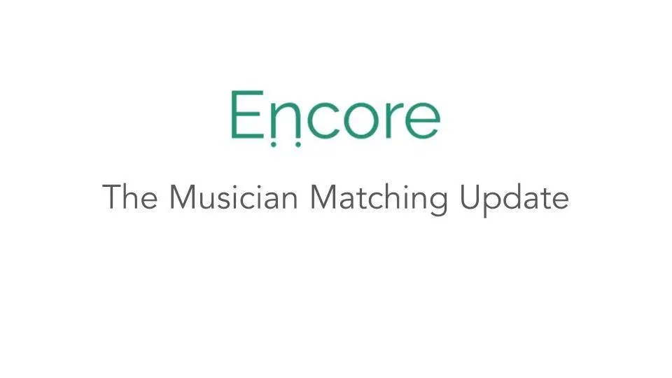 Introducing: The New Musician Matching System