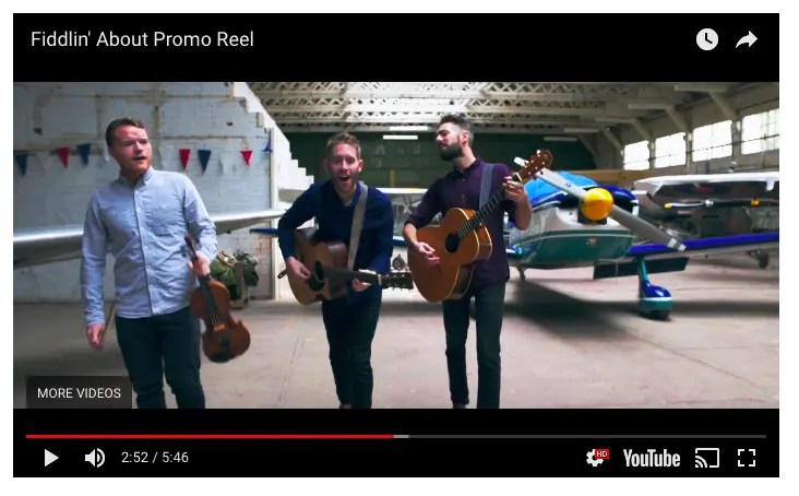 3 Video Showreels Every Musician Needs to Win Bookings Online