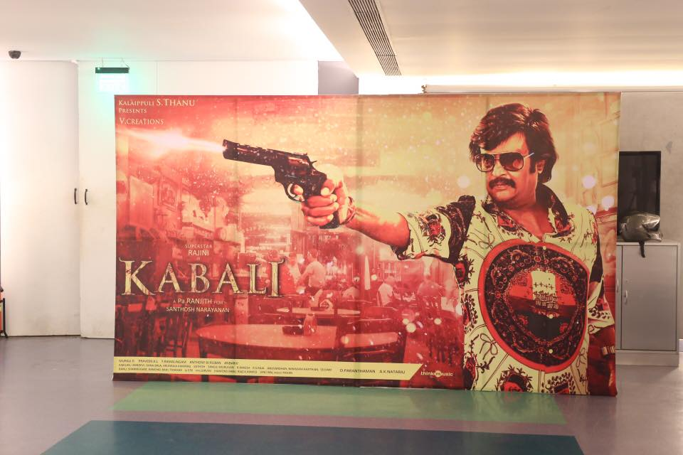 Rajini Kabali Audio Launch Stills
