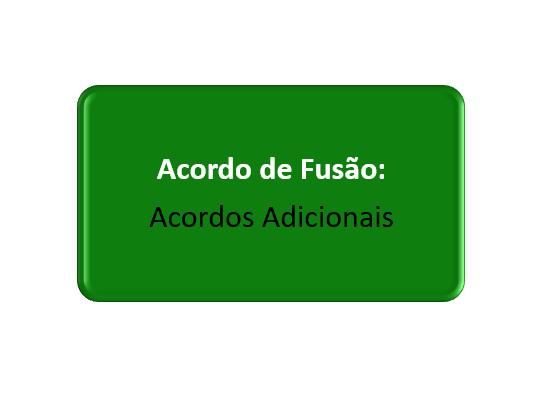 acordos adicionais do acordo de fusão