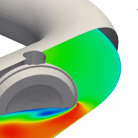 Simulating Transient Flow in a Closing Butterfly Valve
