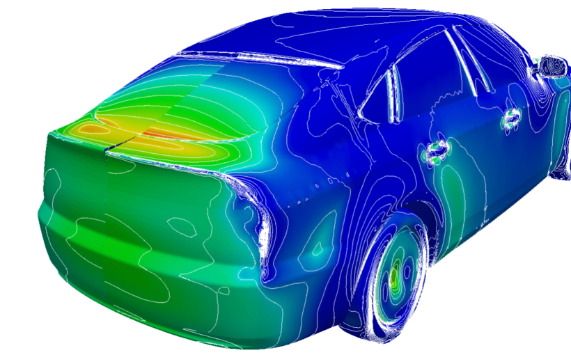 surface smoothing comparison for surface-based continuous adjoint optimization