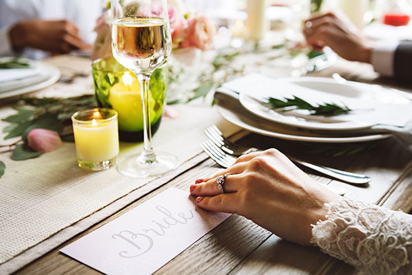Wedding catering menus to make everyone happy