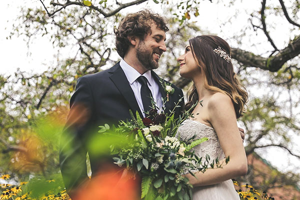 Fall in love with an autumnal wedding