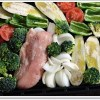 焼き野菜の夕食