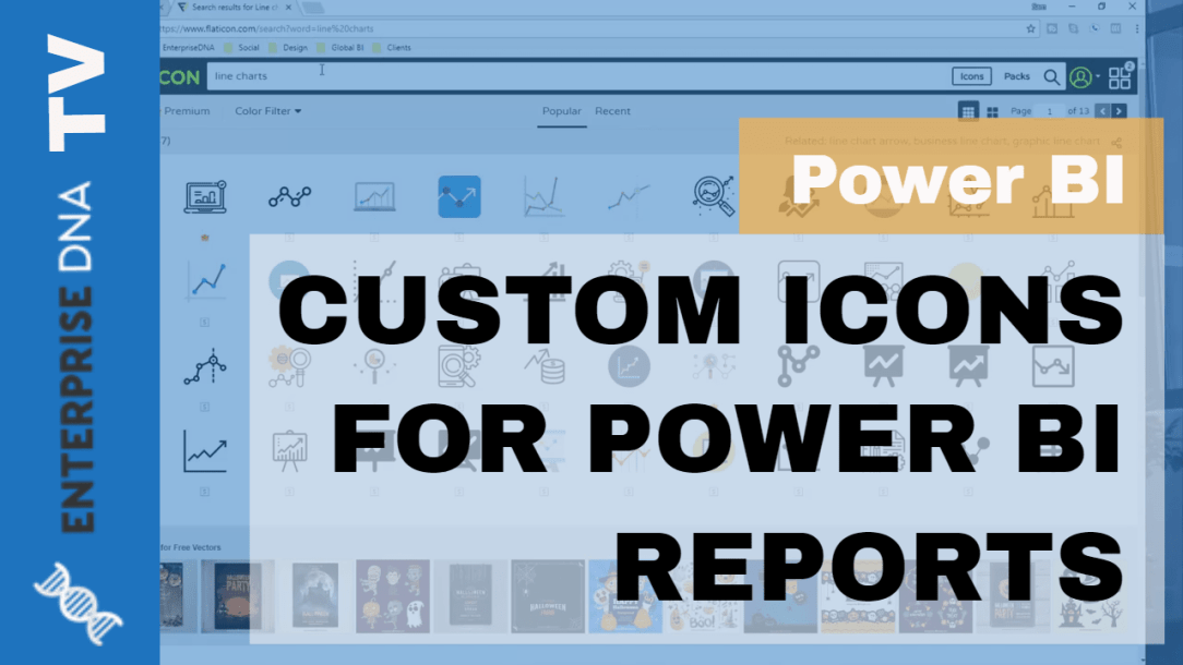 Add Custom Icons to Power BI Reports