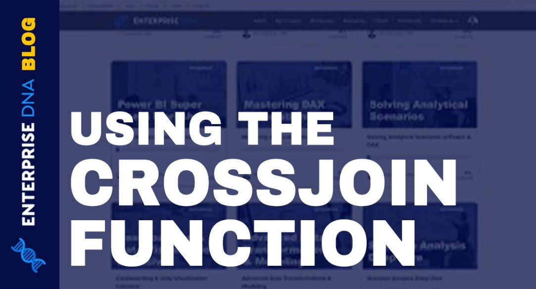 CROSSJOIN function