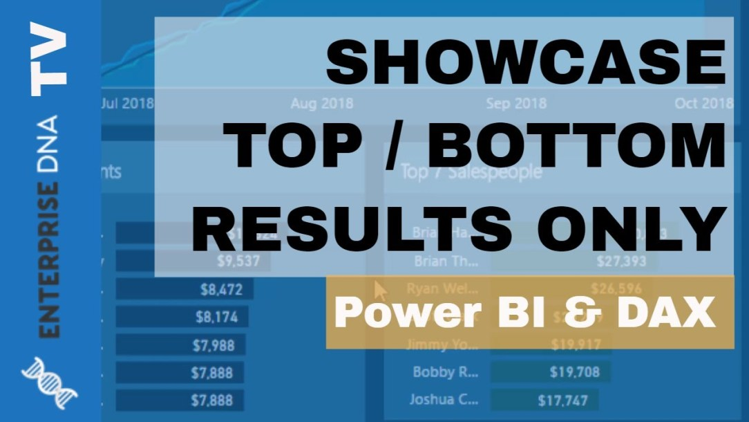 Show Only Top Or Bottom Results Using Ranking Formula