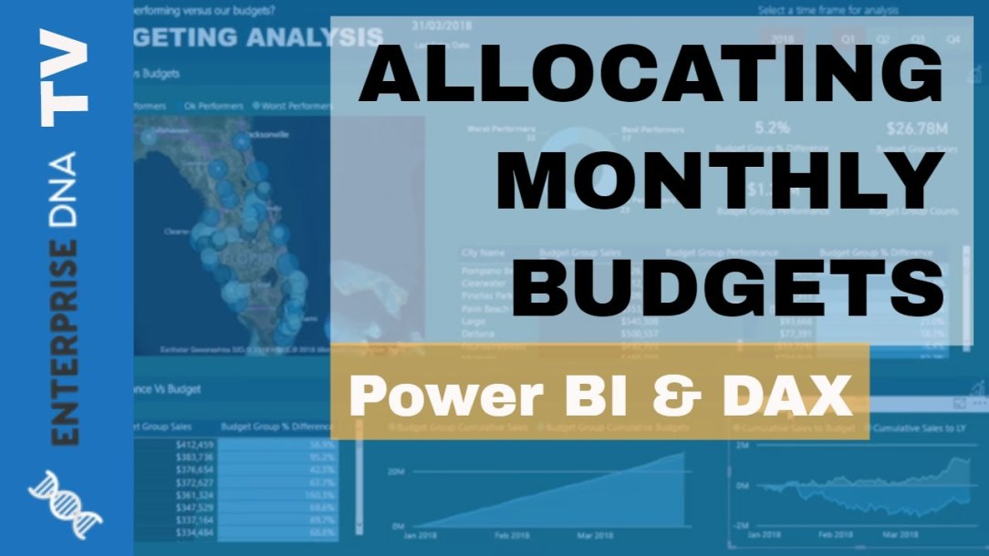 Allocate Monthly Forecasts Across Daily Results In Power BI Using DAX