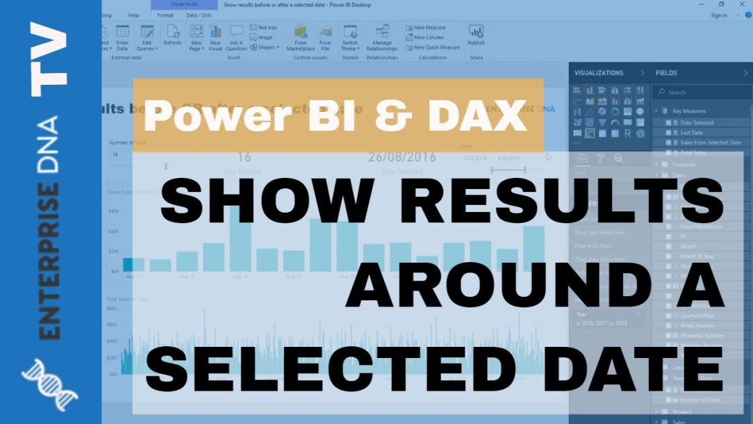 Show Days Before Or After A Selected Date Using Power BI