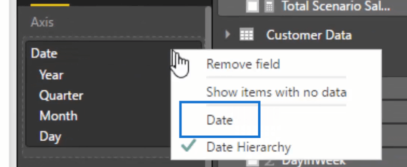 filtering the data by date