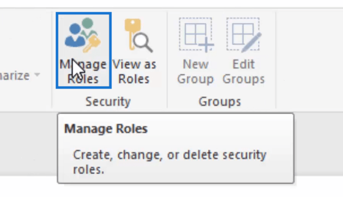 manage roles