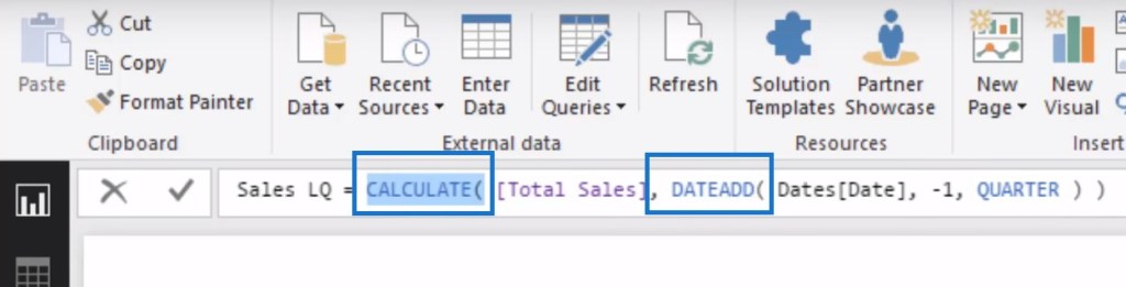 time intelligence in Power BI