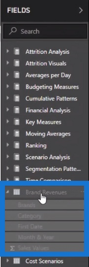 using the query editor in Integrated Power BI Financial Reporting
