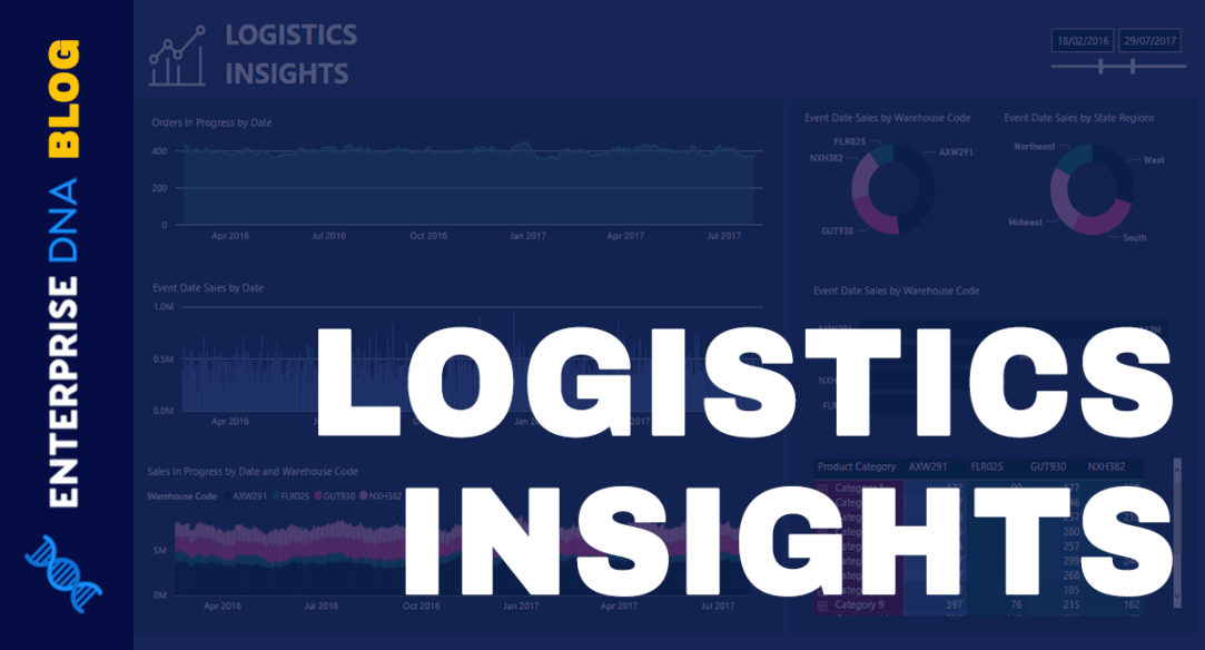 Logistics Insights For Power BI - DAX And Data Modeling Overview