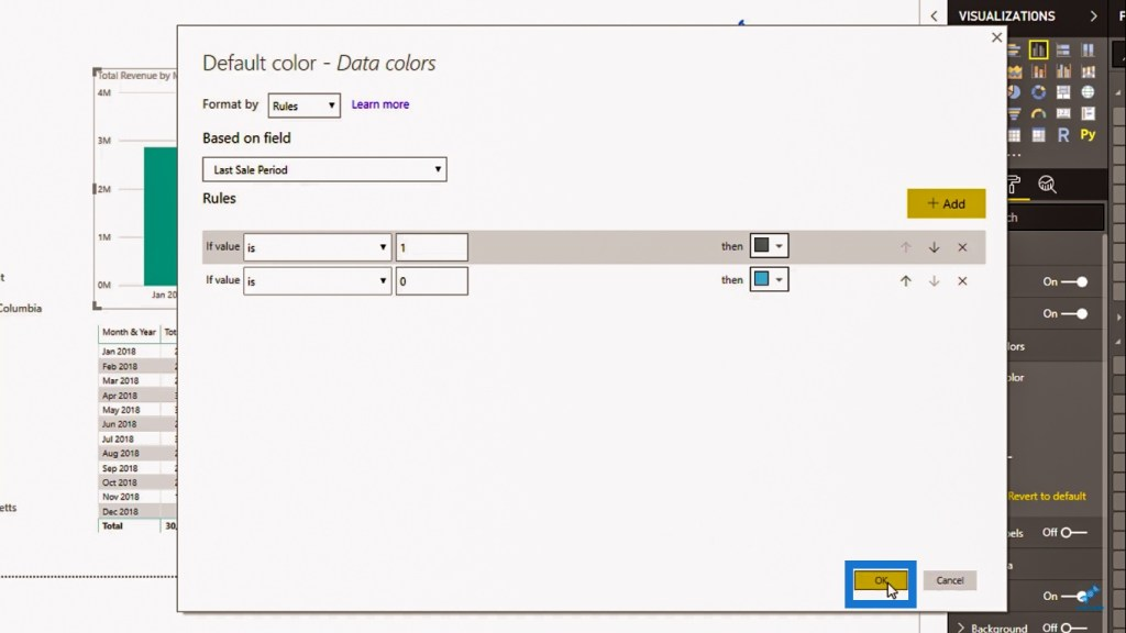 Conditional Formatting for Power BI visuals
