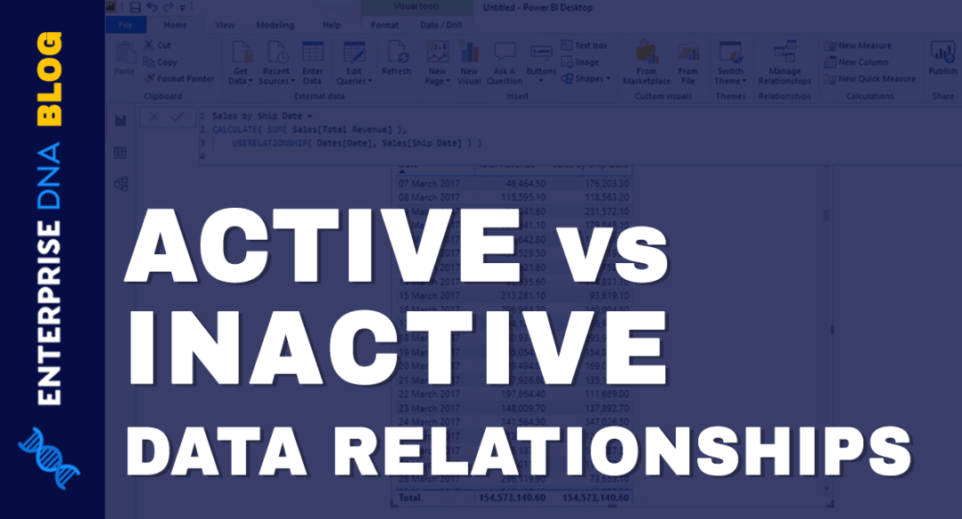Active And Inactive Data Relationships