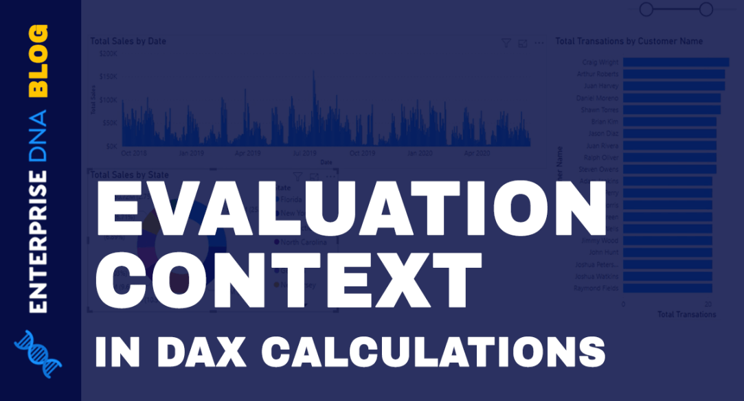 Evaluation Context In DAX Calculations Power BI Enterprise DNA