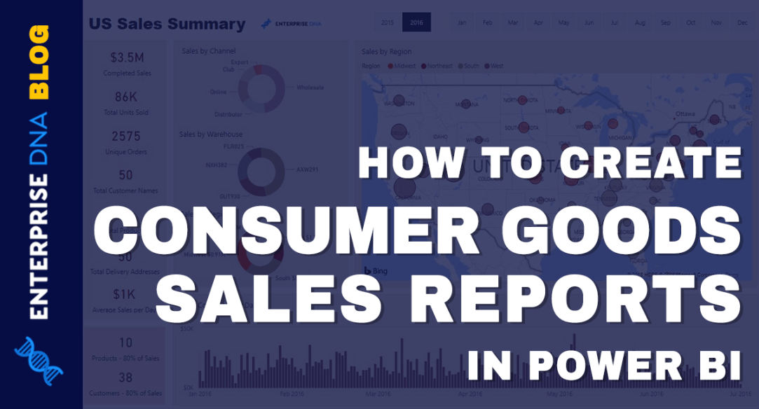Creating A Consumer Goods Sales Report In Power BI