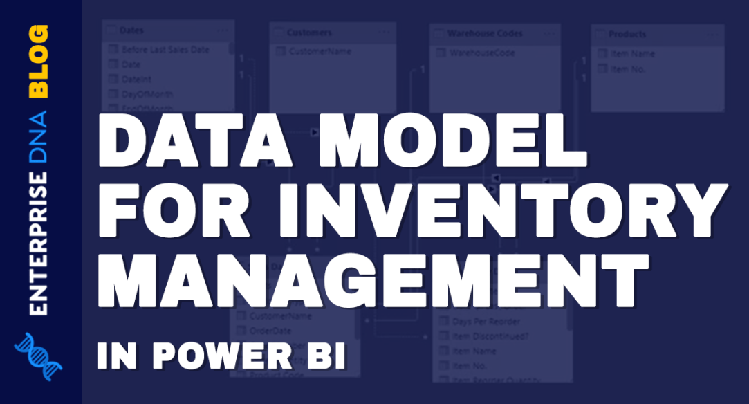 Data Model Power BI For Inventory Management