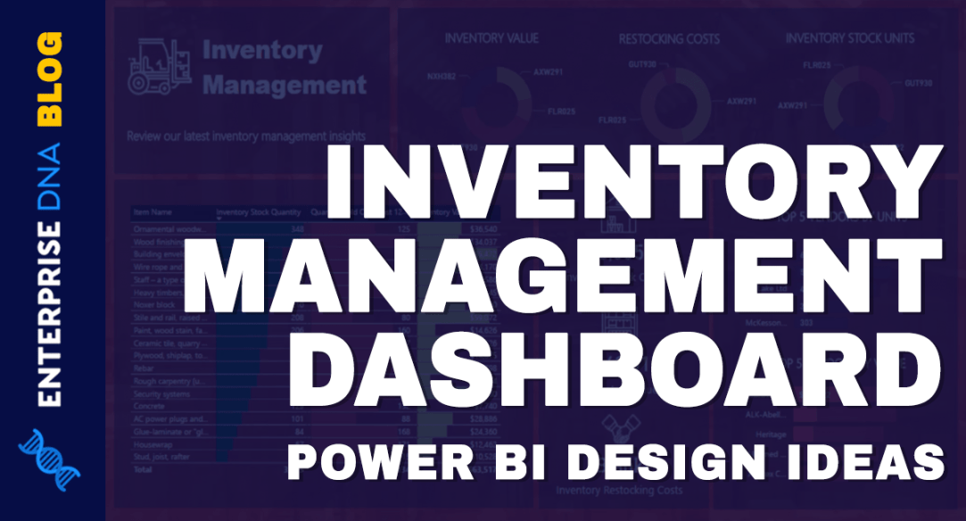 Power BI Design Ideas For Inventory Management Dashboards