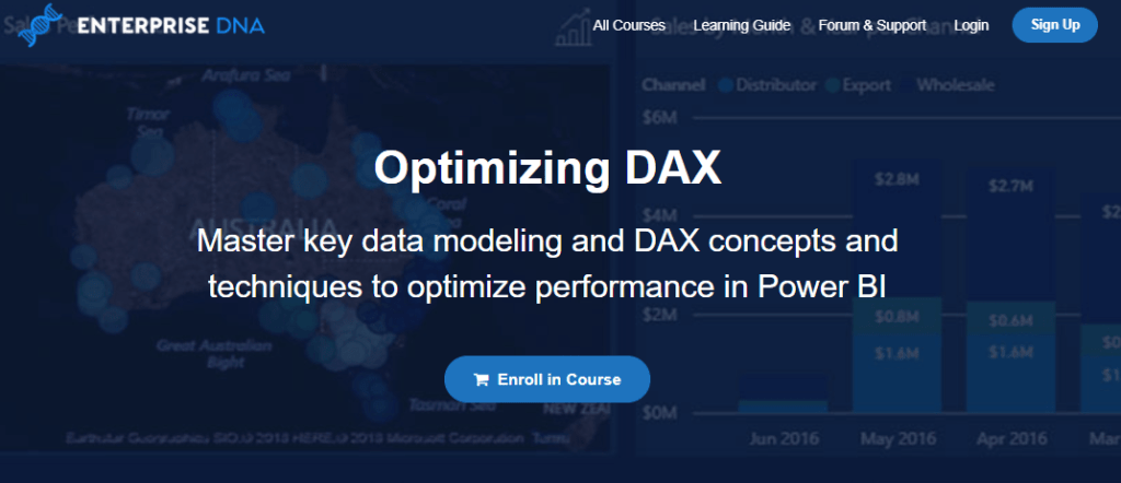 optimize DAX