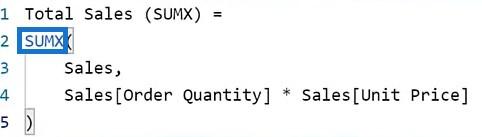 DAX calculations in Power BI