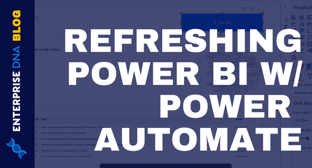 Using Power Automate To Refresh Data In Power BI