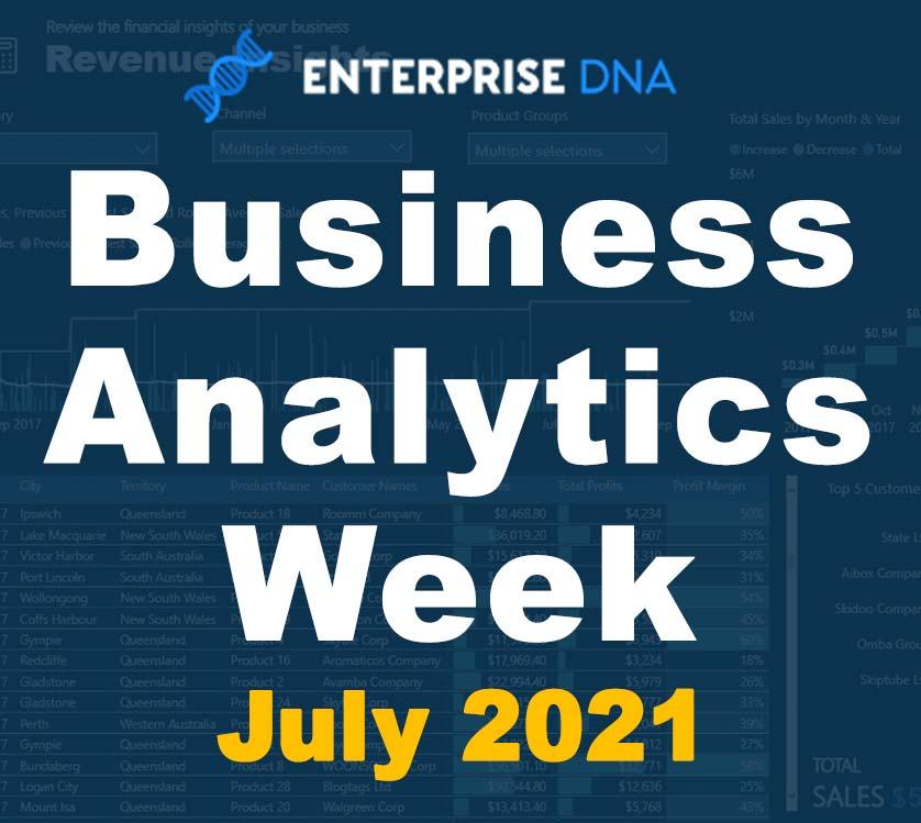 Business Analytics Week - Enterprise DNA